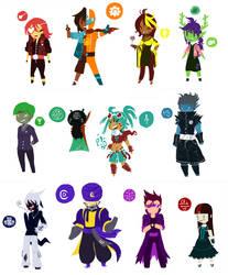 Haasten Character Designs by ixis