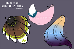 Pin The Tail Adopts Gen 2 [CLOSED] by StarkindlerStudio