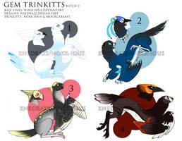 Gem Trinkitts- Batch 2 [Closed] by StarkindlerStudio