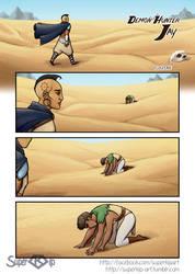 DemonHunter Jay - Fugitive - page 1 by Super-kip