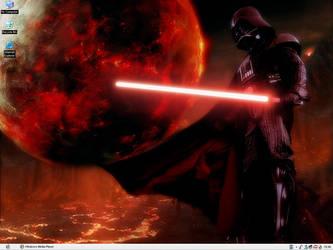 Darth Vader Desktop by Shadrak