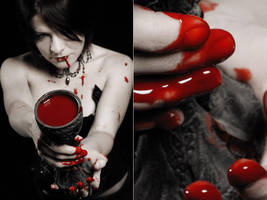 The Cup Of My Blood I by seancoetzer