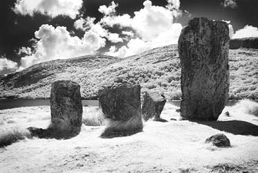 Uragh Stone Circle by seancoetzer