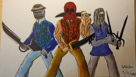 Confrontation Gang 1 by Delinos80
