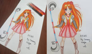 Zoe the Noble Warrior by BiancaRoseTV