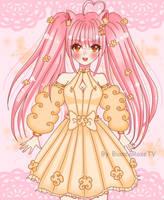 Fluffy Asuna [OC] by BiancaRoseTV