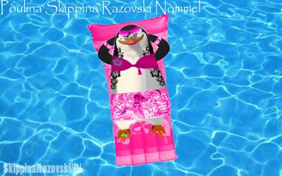 Me Skippina in the Pool by SkippinaMariaJJNove