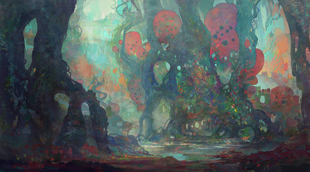 Swamp by ProjectOsxar