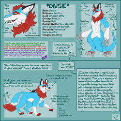 Daisie Ref Sheet by BecSparrow by Daisie2819