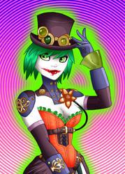 Duela Dent - Joker's Daughter by LeoCez