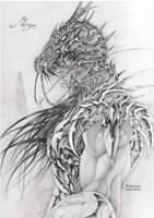 shiryu by elgrafikador