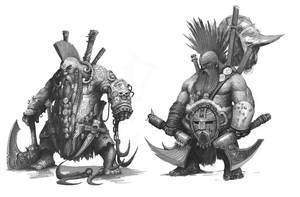 Dwarf Slayers by AlexBoca