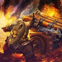 Dwarf Gunner by AlexBoca