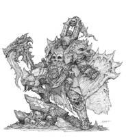 Warrior concept by AlexBoca