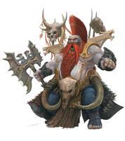 Dwarf Slayer by AlexBoca