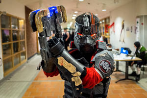 Dead Space 3 Cosplay: Carver NarCon Winter 2014 by Exceal
