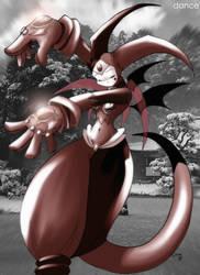 The Demon Dancer Daya by ChaloDillo