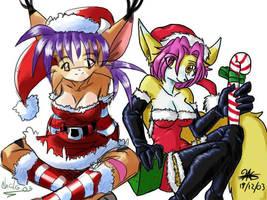 Chicas de Navidad 2003 by ChaloDillo
