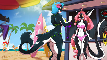 Paraiso Orca Girls by ChaloDillo