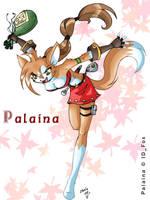Bandit Kitty Palaina by ChaloDillo
