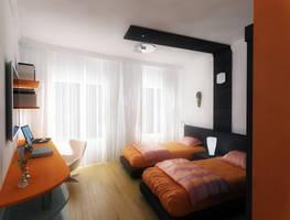 bedroom apartment by Grapiqkad