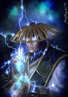 Raiden..Mortal Kombat X by Grapiqkad