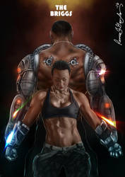 Mortal Kombat X - The Briggs by Grapiqkad