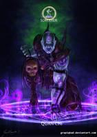Mortal Kombat X-Quan Chi - Sorcerer Variation by Grapiqkad