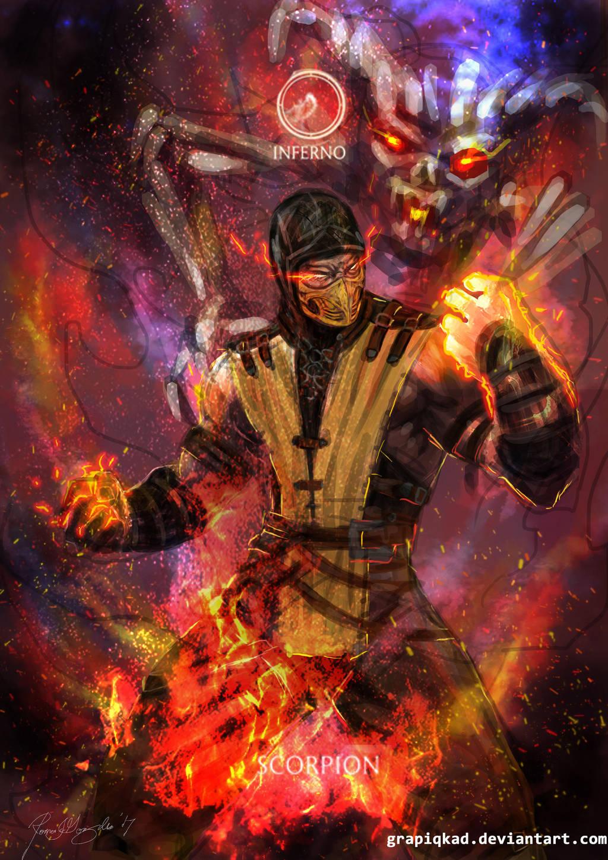 Scorpion Brennendes Inferno