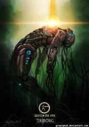 Mortal Kombat X-Triborg-Sektor by Grapiqkad