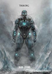 Mortal Kombat X-Triborg-Sub Zero by Grapiqkad