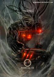 Mortal Kombat X-Triborg-Smoke by Grapiqkad