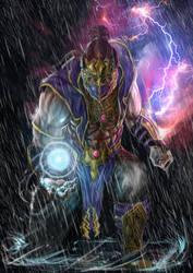 Mortal Kombat X Rain by Grapiqkad