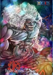 One Piece Hody Jones by Grapiqkad
