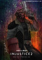 Injustice 2 Hellboy by Grapiqkad