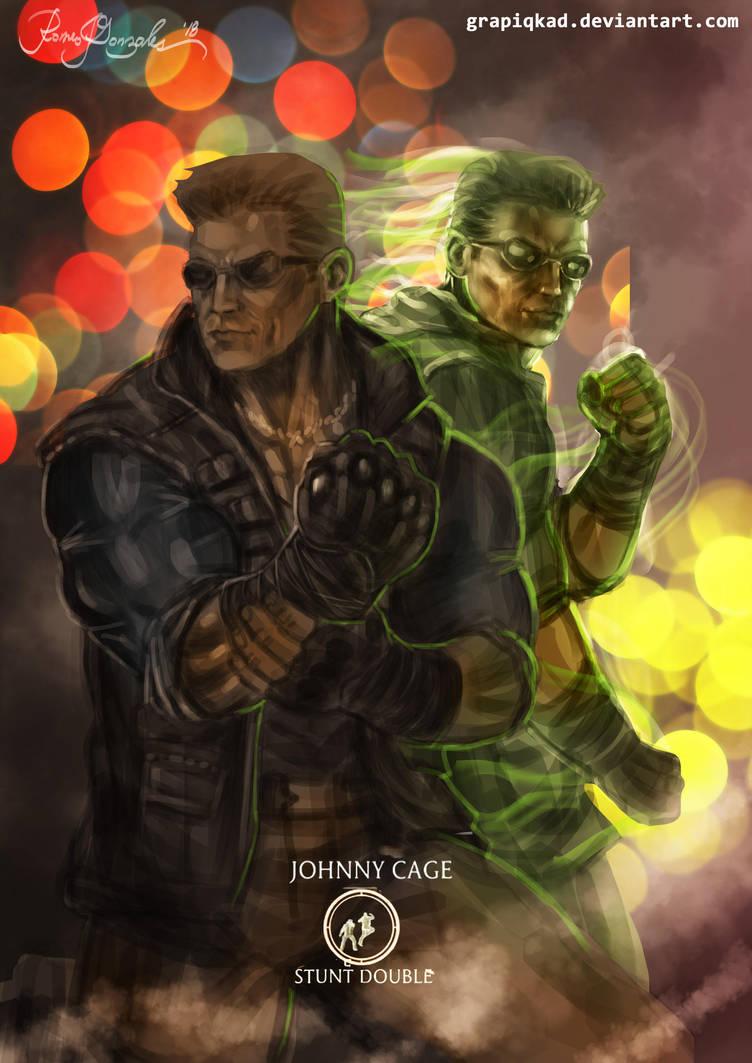 Mortal Kombat X Jonny stunt double Variations by Grapiqkad