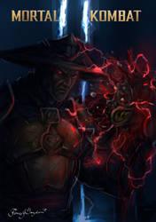 Dark Raiden-Mortal kombat 11 by Grapiqkad