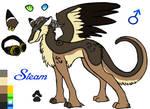 Steam the angel dragon by xRubyCayx