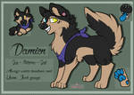 .::Damien The German Shepard::. by xRubyCayx