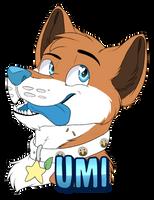 Badge Umi by xRubyCayx