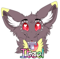 Badge Itzel by xRubyCayx