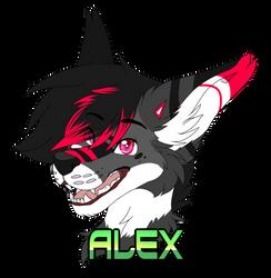 Badge Alex by xRubyCayx