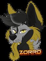 Badge zorro by xRubyCayx