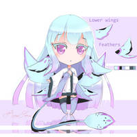 [CLOSED] Kazetori Adoptable #1 by RoseSense