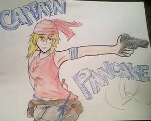 Captain Pancake! by Melawe