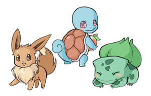 pokemon 1 by azamono
