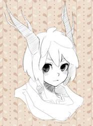 Shepherd sketch by azamono