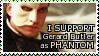 Gerard Butler Phantom STAMP by lonewined