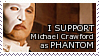 Michael Crawford Phantom STAMP by lonewined