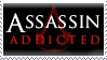 Assassin addicted STAMP by lonewined